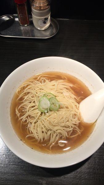 「中華そば 中」@自家製麺 伊藤 銀座店の写真