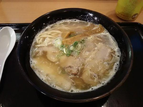 「宝ラーメン あっさり 並(¥620)」@宝ラーメン 徳島阿波おどり空港店の写真