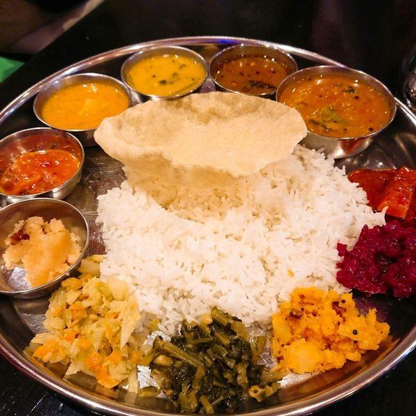 「ベジミールス」@インド食堂 チャラカラの写真