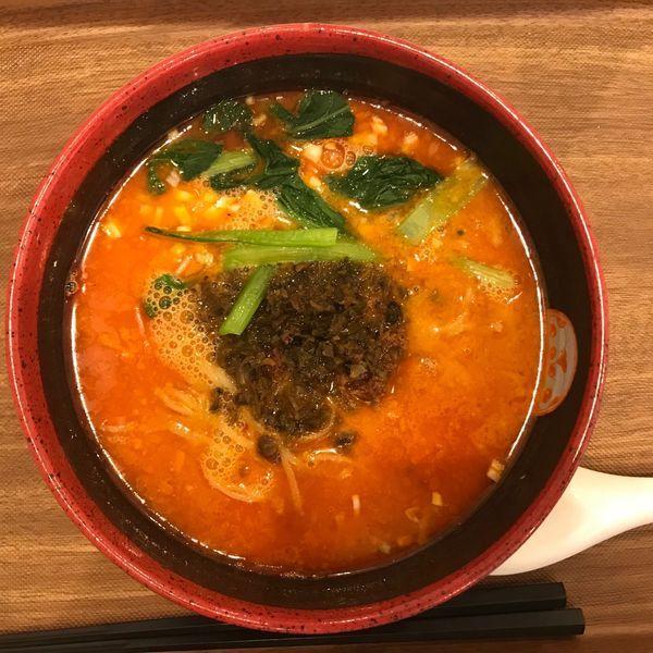 「汁有り担担麺 750円」@TEN TENとTAN TAN 岐阜店の写真