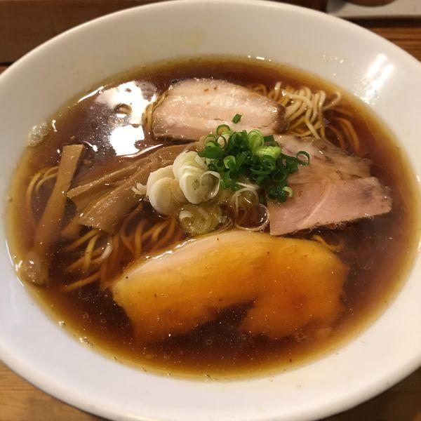 「しもふり中華そば」@麺屋KABOちゃんの写真