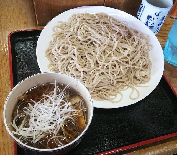「山菜そば950円」@そばのやまっくの写真