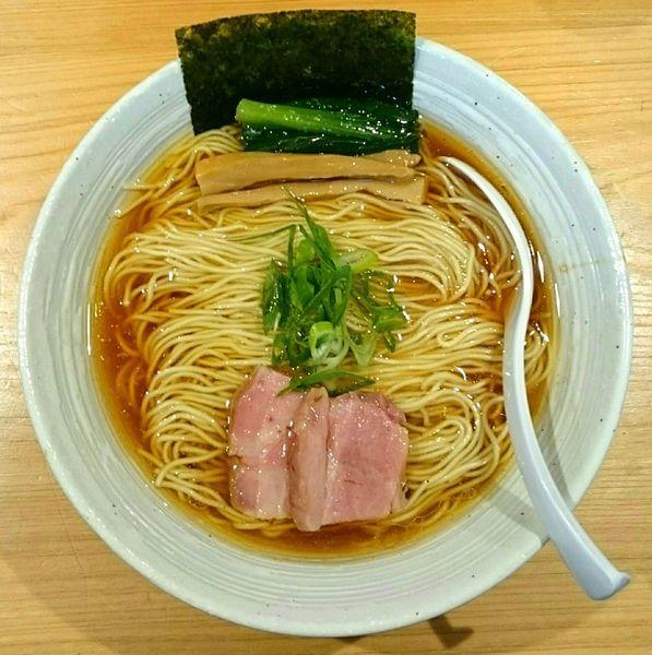 「醤油らぁ麺」@麺屋 さくら井の写真