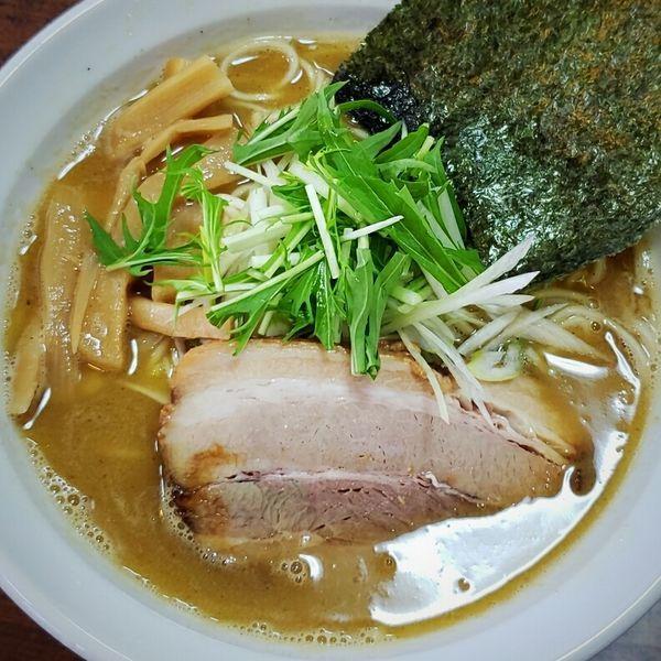 「三流らーめん(二代目濃厚魚介鶏白湯)680円」@熱い三流の写真