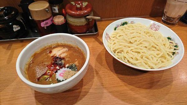 「濃厚魚介つけ麵」@東池袋大勝軒 京都拉麺小路店の写真