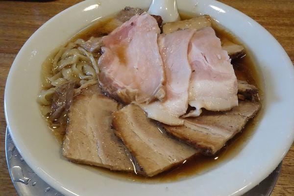 「肉そば(並)」@湯の台食堂の写真