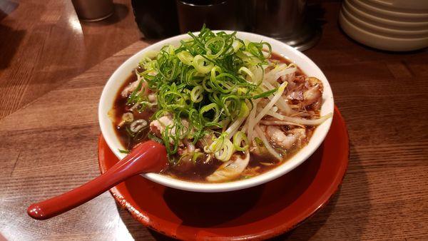 「チャーシューそば(並)」@新福菜館 麻布十番店の写真