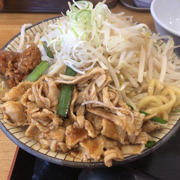 「肉富士ラーメン」@優勝軒 日立店の写真