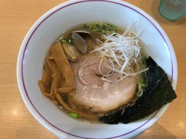 「限定貝だし塩ラーメン」@らぁ麺食堂 吉凛の写真