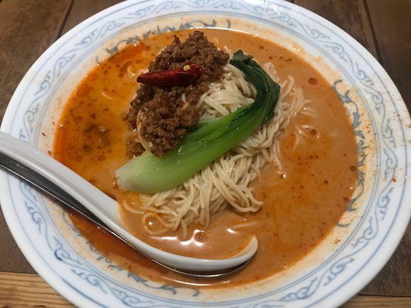 「冷しタンタン麺大盛 920円」@中国ラーメン 揚州商人 大和店の写真