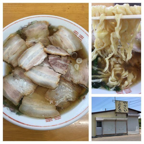 「肉そば 手打ち 950円」@古川農園の写真