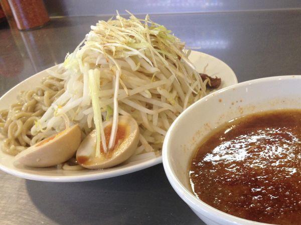 「つけ麺赤+味玉」@らーめん大 本郷店の写真