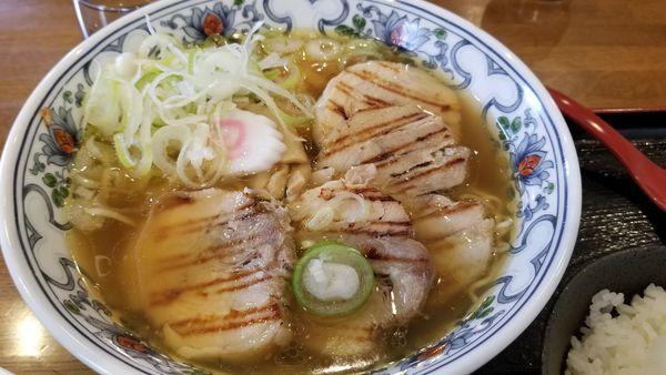 「チャーシュー麺 並 こってり」@丸山中華蕎麦店の写真