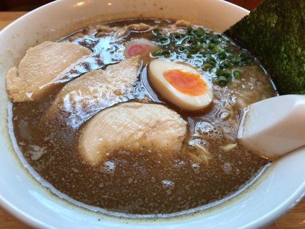 「煮干しそば(限定)」@らー麺Chopの写真