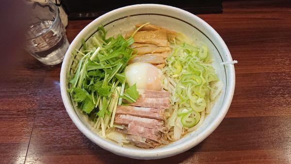 「こってり 汁なし 750円 + ちゃーしゅー丼 250円」@麺屋 旬の写真