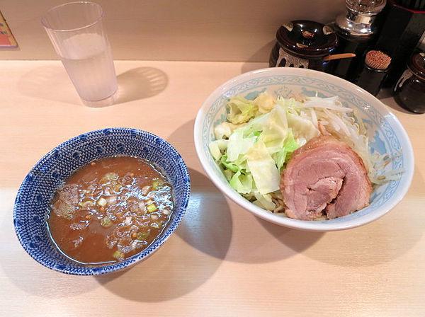 「塩つけめん」@らーめん 陸 尾山台店の写真
