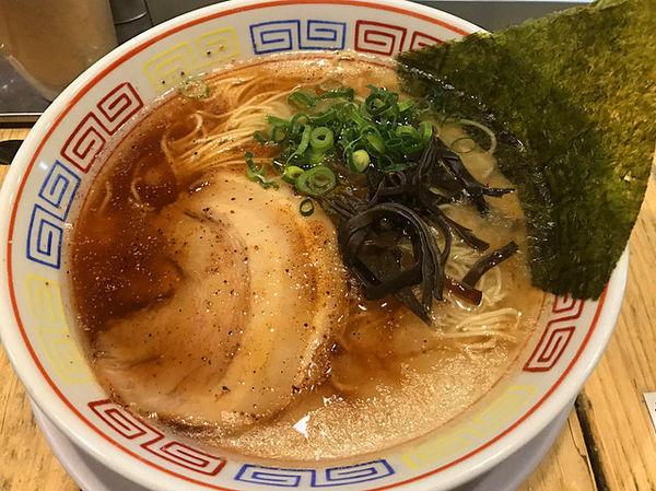 「豚骨ラーメン(黒)」@つけ麺 中華そば 節 用賀店の写真