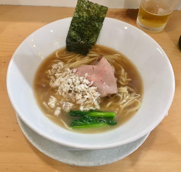 「クエそば【限定】1200円」@麺屋BISQの写真
