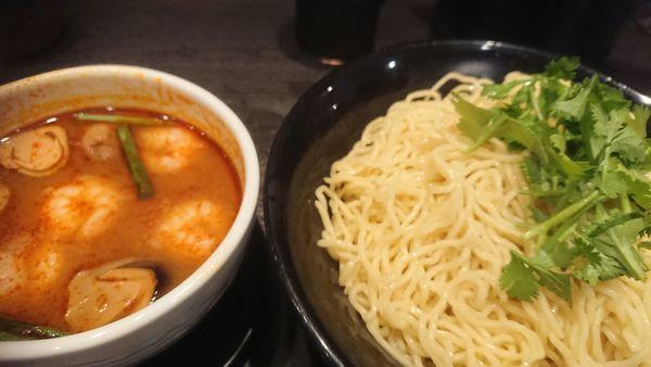 「トムヤムつけ麺(限定、770円)」@ラーメン大至の写真