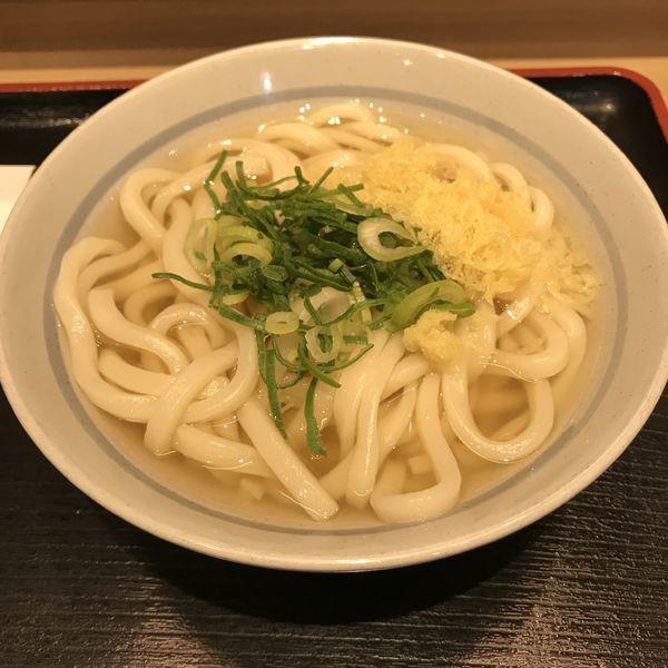 「かけ(並)(¥320)」@本場さぬきうどん 親父の製麺所 浜松町店の写真