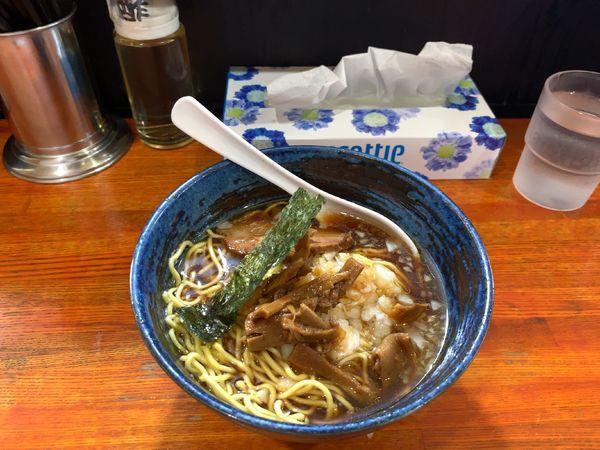 「中華そば・カリーセット(1000円」@えびすやの写真