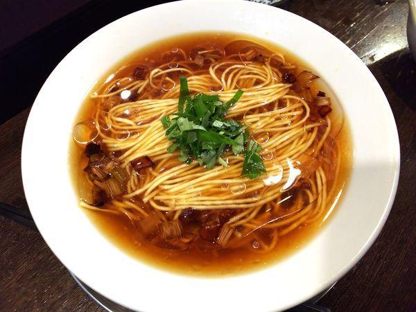 「鯛と生姜の冷やしそば」@立ち呑み居酒屋 金町製麺の写真