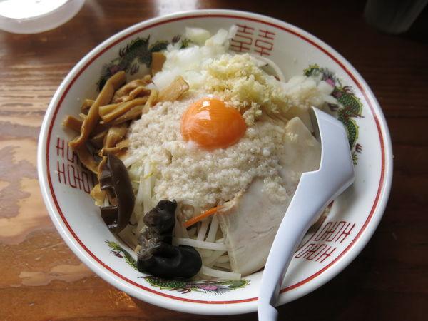 「油麺:900円」@ら〜めん ぽっぽっ屋 晴海トリトン店の写真