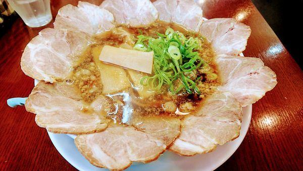 「チャーシュー麺」@尾道ラーメン 丸ぼしの写真
