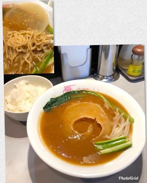 「最終日曜限定・フカヒレ蕎麦¥1380&ライス¥100」@中華蕎麦 瑞山(ZUIZAN)の写真