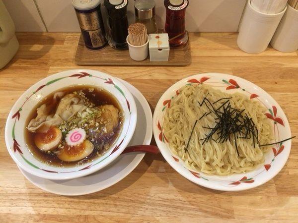 「特製つけ麺 大盛 醤油 太麺」@らーめん天神下 大喜の写真