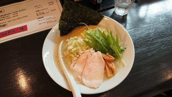 「しお鶏白湯らぁめん 750円」@らぁめん翔の写真