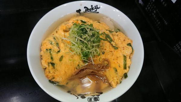 「酒井店長特製天津麺」@麺屋 丈六の写真