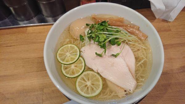 「限定煎りニボ冷やし」@清麺屋の写真