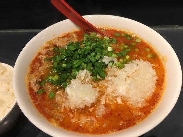 「勝浦式坦々麺」@じもんの写真