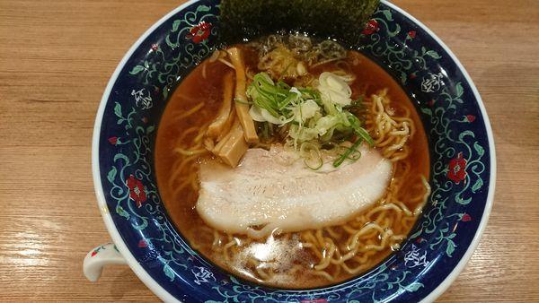 「煮干醤油ラーメン 780円」@凌駕 IDÉAの写真