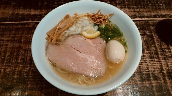 「味玉塩そば¥900-」@麺や 結の写真