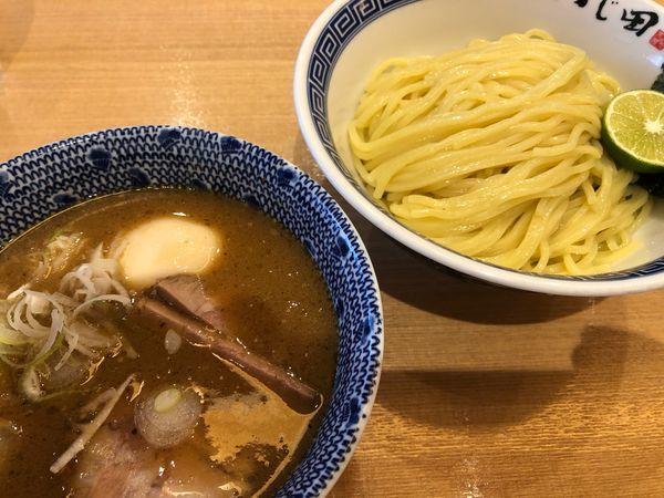 「濃厚特製つけ麺 1080円」@つじ田 水道橋店の写真