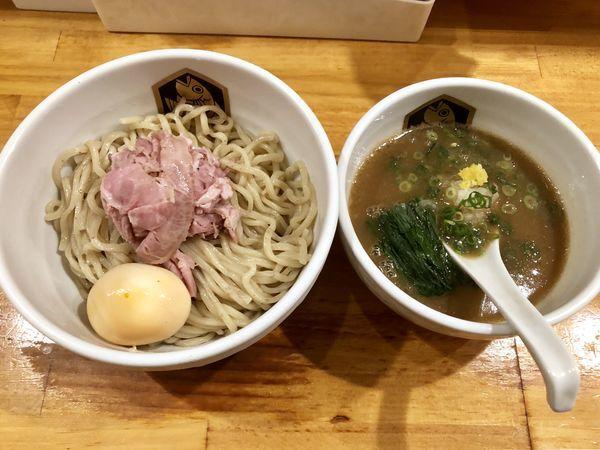 「味玉濃厚真鯛つけ麺 ¥1000」@真鯛らーめん 麺魚の写真