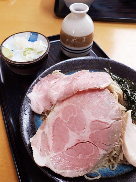 「(限定)特肉ざる950円」@と多゛食堂の写真