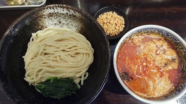 「担担つけ麺」@ほうきぼし+の写真