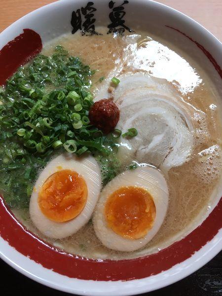 「半熟煮玉子ラーメン」@ラーメン暖暮 横浜鶴屋町店の写真