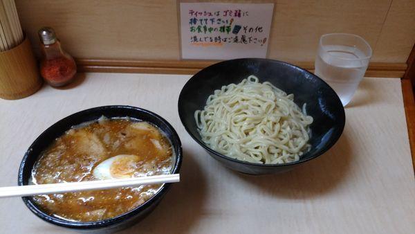「味噌つけ麺ブタ増し麺熱盛りアブラカラメ」@ラーメン二郎 京成大久保店の写真