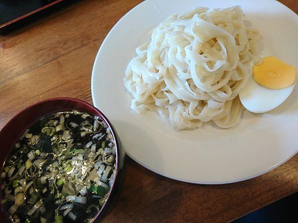 「刀削つけ麺(700円)」@龍勝麺館の写真