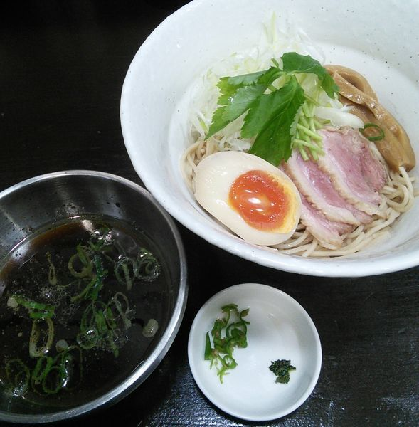 「鴨つけそば 850円」@麺や 魁星の写真