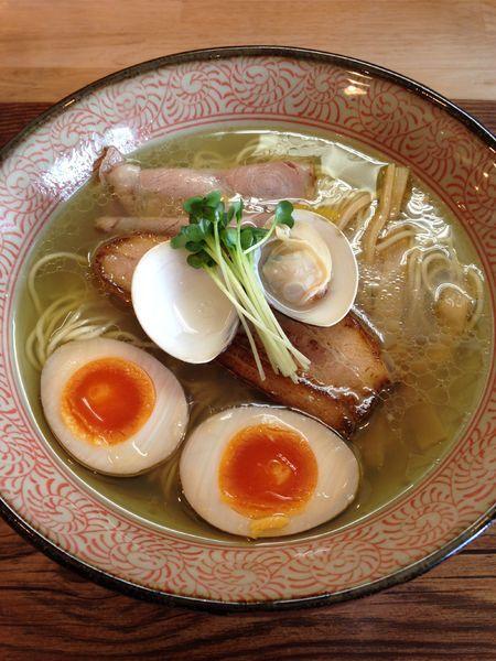 「特製蛤の塩そば 1000円」@Ramen611の写真