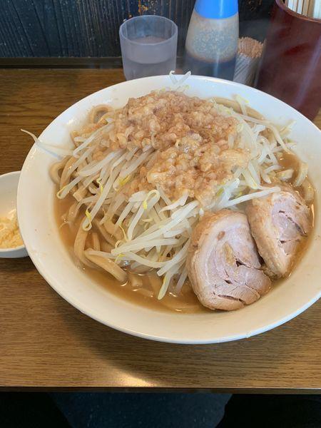 「大ラーメン麺増し600g」@眞久中の写真