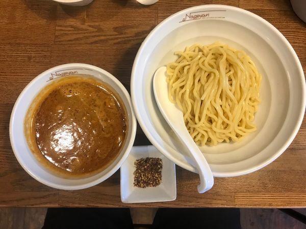 「辛つけ麺 花椒 960円」@らーめん Nageyariの写真