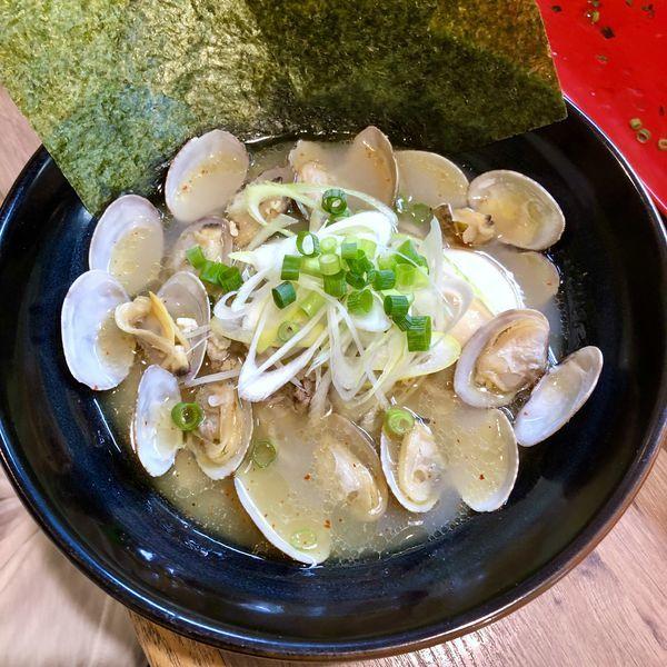 「【気まぐれ限定】アサリ塩SOBA」@麺家 Shumen Doushiの写真