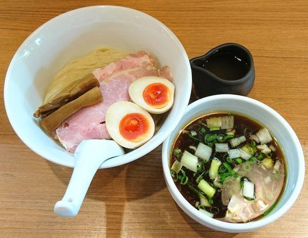 「特製つけ麺」@鶏そば 煮干そば 花山の写真