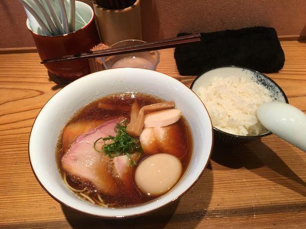 「特製醤油➕めし 1250円」@らぁめん鴇の写真